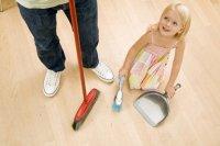Как приучить ребёнка выполнять работу по дому