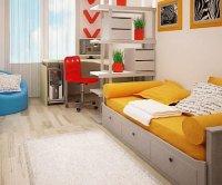 Как обустроить комнату для школьника